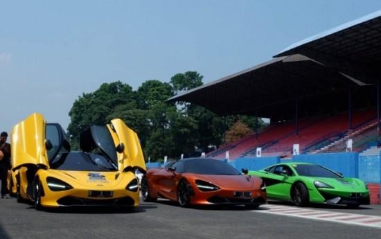 Sewa Ini Jadinya Kalau Komunitas McLaren Gelar Drag Race