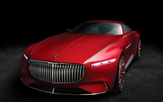 Sewa Vision Mercedes-Maybach 6, Konsep Mobil Mewah Masa Depan