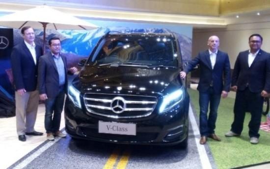 Sewa Mercedes-Benz V Class MPV Resmi Meluncur di Indonesia