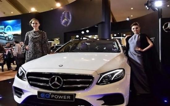 Sewa IIMS 2018: Mercedes-Benz E 350 e, Apa Unggulnya Sistem Hybrid?