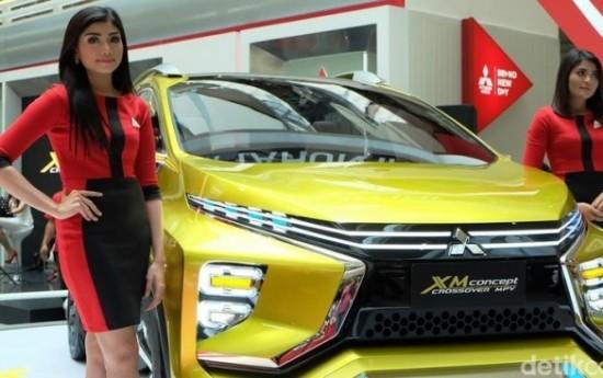 Sewa Mitsubishi XM Concept Indent Sampai Desember