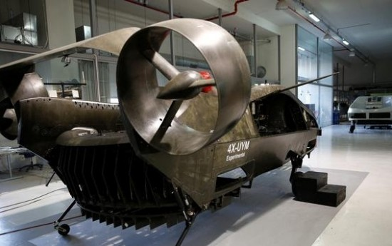 Sewa Mobil Terbang Otonomos Garapan Israel