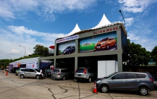 Sewa Posko Nissan-Datsun Di Sepanjang Jalur Mudik Lebaran 2016
