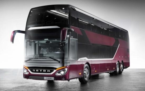 Sewa Daimler Setra, Bus Dengan Sistem Pemadam Kebakaran pada Kompartemen Mesin