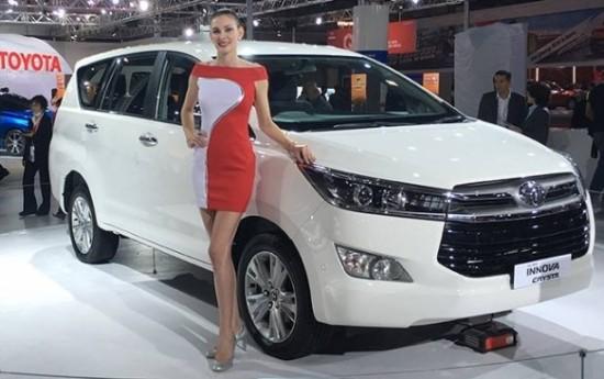 Sewa Toyota Luncurkan Innova Crysta