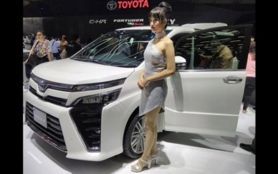 Sewa Toyota Pantau Peluang Rakit MPV Mewah Voxy di Indonesia