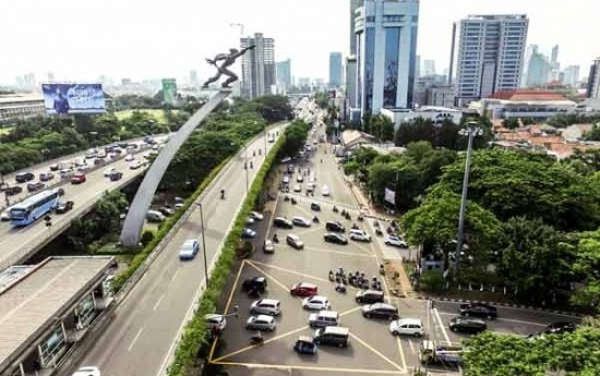 Sewa Paham Aturan Main Yellow Box Junction di Persimpangan Jalan