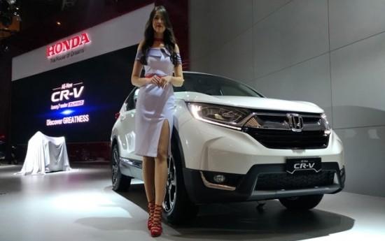 Sewa Honda Luncurkan CR-V 3 Baris dan Turbo, Harga Mulai Rp 432 Juta