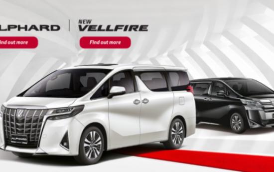 Sewa Toyota Alphard & Vellfire Facelift Ditawarkan Lebih Mahal Puluhan Juta Rupiah