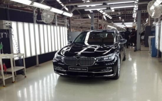 Sewa BMW Seri 7 Kini Dirakit di Sunter, Jakarta