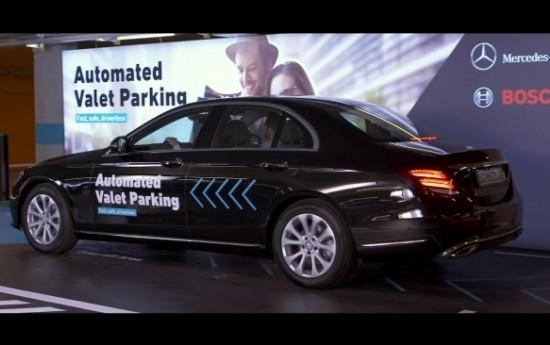 Sewa Bosch dan Daimler Ciptakan Parkir Swakemudi Pertama Di Dunia