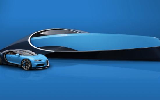 Sewa Tidak Puas 'Hanya' Buat Supercar, Bugatti Siapkan Superyacht?
