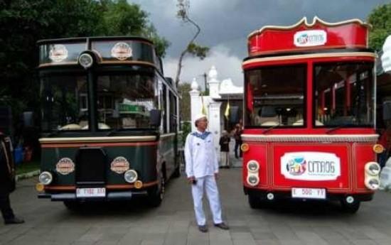 Sewa Pemkot Cirebon Luncurkan Bus Wisata Citros Untuk Keliling Kota