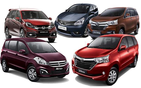 Sewa Di Indonesia, Dominasi Mobil MPV Sulit Dikalahkan Jenis Lain