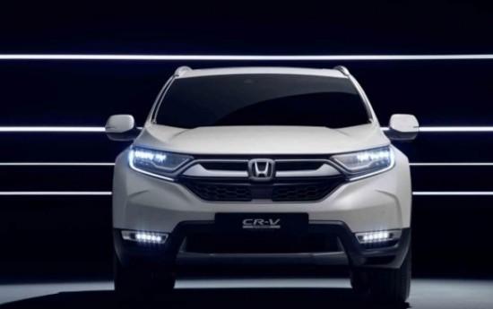 Sewa Begini Penampakan Honda CR-V Hybrid