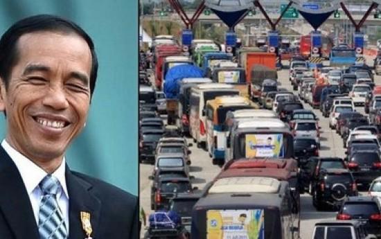 Sewa 4 Cara pemerintah Jokowi manjakan pemudik Lebaran 2017