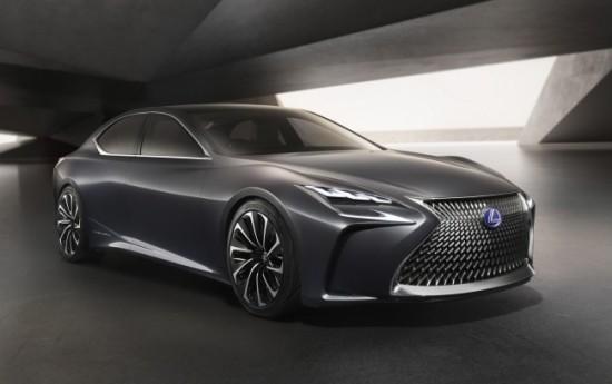 Sewa Lexus LS 2017 Terbaru Siap Debut Di Detroit Motor Show 2017