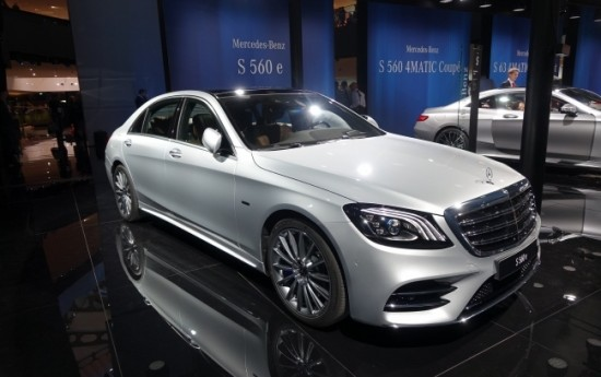Sewa Mercedes-Benz S560e, Mewah Bermain Plug-in Hybrid