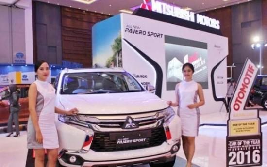 Sewa Mitsubishi Pajero Sport Limited Edition Menjadi Daya Tarik Pengunjung di GIIAS 2016