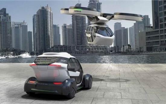 Sewa Mobil Kapsul Terbang Diperkenalkan di Geneva Motor Show 2017