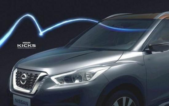 Sewa Nissan Kicks, Rival Honda BR-V Diluncurkan Bulan Mei 2016
