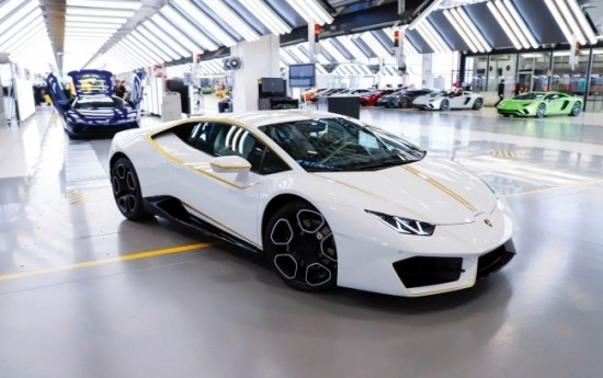 Sewa Lamborghini Paus Fransiskus Laku Terjual Rp 11,6 Miliar