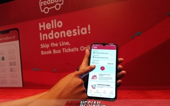 Sewa RedBUS Tiba di Indonesia, Bersama Kita Menyambut Liburan