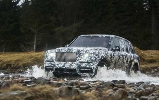 Sewa Ini Penampakan SUV Mewah Keluaran Rolls Royce