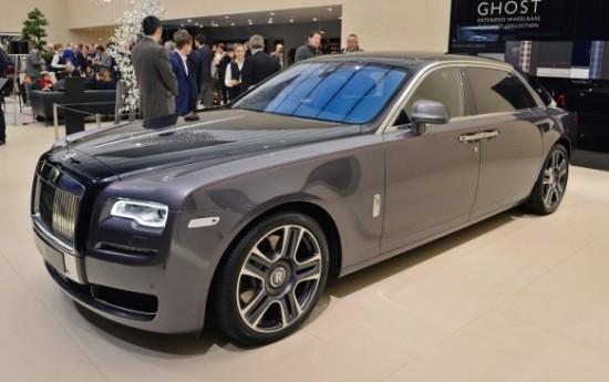 Sewa Hantu Rolls Royce Tertangkap Kamera di Geneva Motor Show