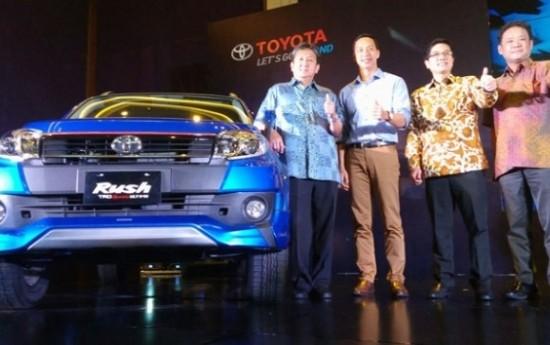 Sewa Varian Toyota Rush Terbaru Diluncurkan, Begini Speknya?