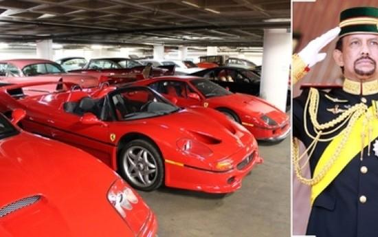 Sewa Raja Salman Kalah Dari Sultan Brunei Soal Koleksi Mobil
