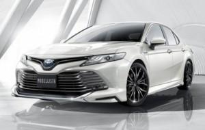 Mobil Pengantin Toyota Camry Makin Ganteng dengan Sentuhan TRD dan Modellista