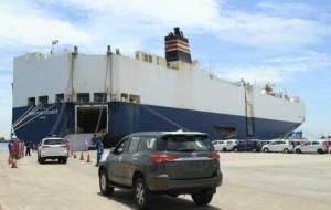 Mobil Pengantin Ekspor Meningkat, Toyota Diberi Penghargaan oleh Presiden Jokowi