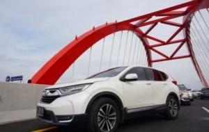 "Mobil Pengantin New CR-V Ramaikan ""Ekspedisi Tembus Tol Trans Jawa"""