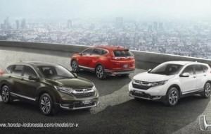 Mobil Pengantin Pilih Honda CRV 2017 5-Seater Atau 7-Seater?