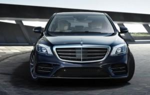 Mobil Pengantin Mercedes-Benz GLC dan S-Class Dapat Fitur Safety Baru, V-Class Punya Mesin Bensin