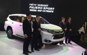 Mobil Pengantin Diluncurkan, Inilah Tipe Tertinggi Mitsubishi Pajero Sport