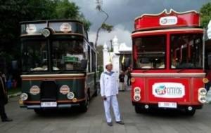 Mobil Pengantin Pemkot Cirebon Luncurkan Bus Wisata Citros Untuk Keliling Kota