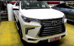 Mobil Pengantin Toyota Fortuner 2019 Bertampang Lexus, Begini Wujudnya