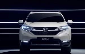 Mobil Pengantin Begini Penampakan Honda CR-V Hybrid