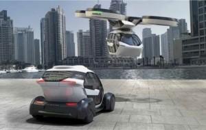 Mobil Pengantin Mobil Kapsul Terbang Diperkenalkan di Geneva Motor Show 2017