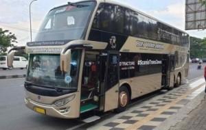 Mobil Pengantin ScaniaTransJawa, United Tractors Luncurkan Bus Scania Terbaru