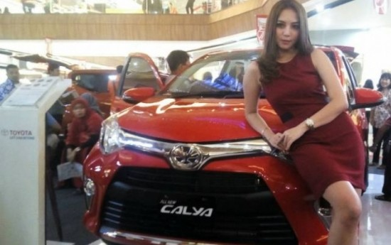 Sewa Jualan Toyota All New Calya Laris Di Jakarta