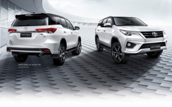 Sewa Cermati Detail All New Toyota Fortuner TRD Sportivo