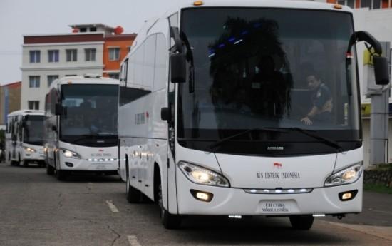 Sewa Bus Listrik MAB Meluncur Tunggu Perpres Mobil Listrik Disahkan