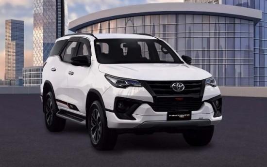 Sewa Toyota Fortuner Paling Banyak Diekspor Lima Tahun Terakhir