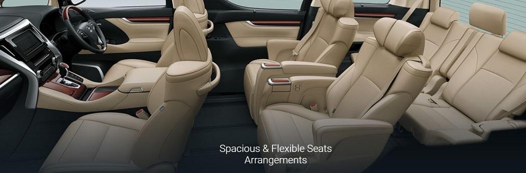 Toyota New Alphard & Vellfire - Sewa Mobil Pribadi | Sembodo
