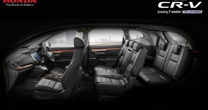 Sewa mobil online - Honda CRV Turbo & Prestige