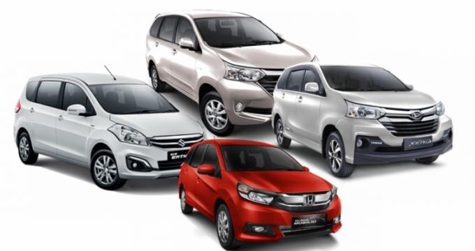 Sewa mobil online - Avanza Xenia Ertiga Mobilio Xpander